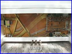 Yamaha Disklavier Mx100a Upright Piano Auto Player 48 U1 White Mx100-a Great