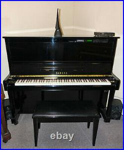 Yamaha Disklavier upright player piano