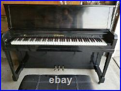 Yamaha Everett upright piano