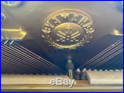 Yamaha M1 Console Upright Piano 42 1/2 Satin Walnut