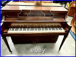 Yamaha M204 Upright Piano 42 Satin Walnut