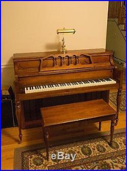 Yamaha M216 Cherry Upright Piano