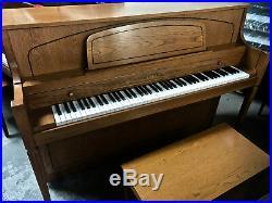 Yamaha M450 Console Piano 2003 Video