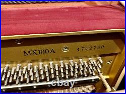 Yamaha MX100 Upright Piano 50 Polished Ebony