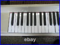 Yamaha MX80 PIVWH Disklavier Player Piano White Upright Piano