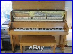 Yamaha P22 45 Upright Professional Collection Piano Oak Excellent Condition