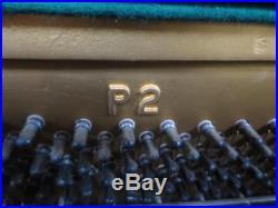 Yamaha P2 Gloss Black Upright Piano with Bench