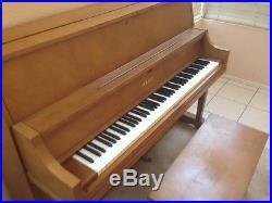 Yamaha PROFESSIONAL UPRIGHT PIANO Only Pick Up