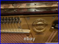 Yamaha Studio Upright Piano U1E Excellent Condition
