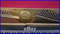Yamaha T121 Upright Piano 48 Polished Ebony Pristine Condition! Bench Incl