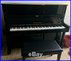 Yamaha U1 48 Professional Collection Upright Piano with Bench