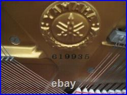 Yamaha U1 48 Studio Upright Piano medium walnut finish can deliver just ask