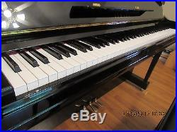 Yamaha U1 48 professional Upright Piano and Bench