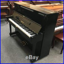 Yamaha U1 (Pre-Owned) Polish Ebony 48 Upright Piano & Bench Mfg 1972 in Japan