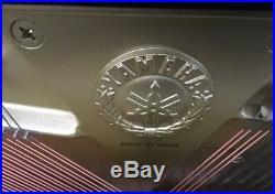 Yamaha U1 Upright 48 Piano With Bench PEBY Polished Ebony Black Japan Year 2010