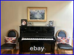 Yamaha U1 Upright Piano 48 Mint Condition