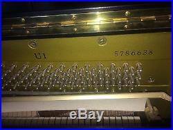 Yamaha U1 professional upright piano 88 keys, S/E
