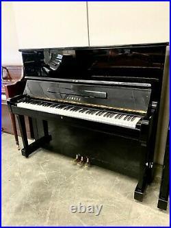 Yamaha U2 Upright Piano 50 Polished Ebony