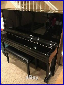 Yamaha U3 Upright Piano Ebony Excellent Condition