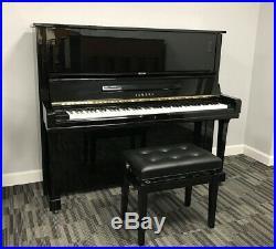 Yamaha U3 Upright Piano Model U3 52 Vertical Polished Ebony VIDEO