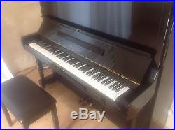 Yamaha U3 ebony polish upright piano