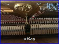 Yamaha U7 Upright Grand Piano withleather bench