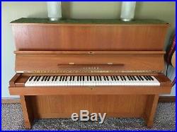 Yamaha Upright Concert Piano