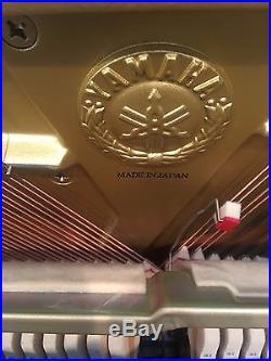 Yamaha Upright MX100II Disklavier Piano Works Great! Disk Player Needs Repair