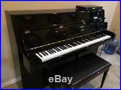 Yamaha upright mx80 disklavier piano for Yamaha upright piano cover
