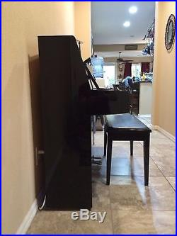 Yamaha Upright MX80 Disklavier Piano