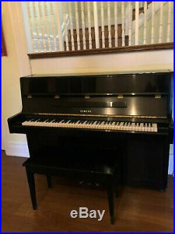 Yamaha Upright Piano 2247319 Black