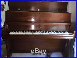 Yamaha Upright Walnut Studio Piano P202