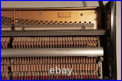 Young Chang E-118 Upright Piano For Sale with a Black Case. 12 Month Warranty