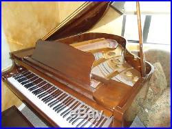 Young Chang G-185 grand piano walnut 6'1