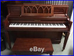 Young Chang Piano Console Upright Cherry