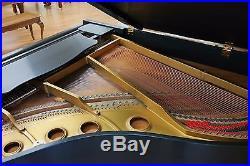 Young Chang ebony satin player grand piano